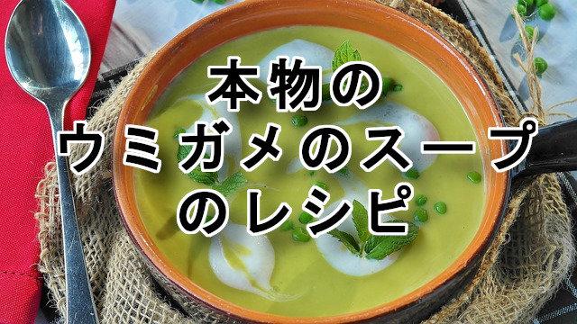 ウミガメのスープのレシピ